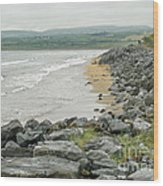 Shores Of Ireland Wood Print