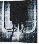 Short Circuit Wood Print