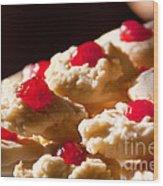 Shortbread Cookies Wood Print
