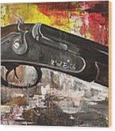 Shot Gun  Wood Print