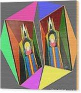 Shots Shifted - Le Pat 7 Wood Print