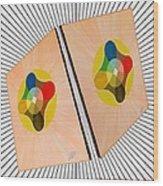 Shots Shifted - Le Soleil 4 Wood Print