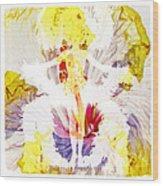 Show Girl Hibiscus Wood Print