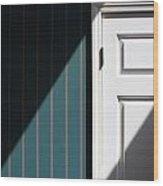 Shred Of Light Wood Print