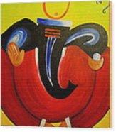 Shree Ganesh Wood Print