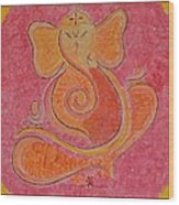 Shree Ganesh Wood Print