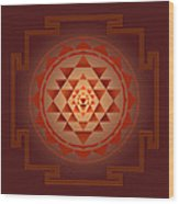 Shree Yantra Wood Print