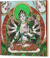 Shri Ashtabhuja Mata Wood Print