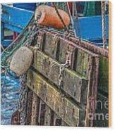 Shrimpboat Tools Of The Trade Wood Print