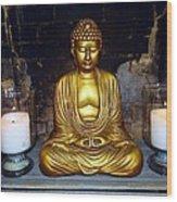Shrine Of Peace Wood Print