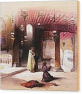 Shrine Of The Nativity Bethlehem April 6th 1839 Wood Print