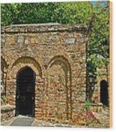Shrine To Mary-meryem Ana Evi-turkey Wood Print