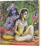 Shringar Lila Wood Print