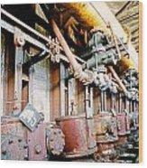 Shutdown Old Coking Plant Wood Print