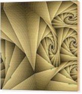 Shutters Wood Print