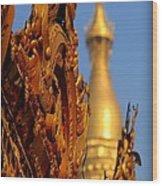 Shwe Dagon Pagoda Wood Print