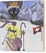 Siamese Queen Of Switzerland Wood Print