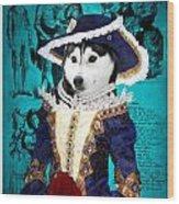 Siberian Husky Art Canvas Print - Baroness Wood Print