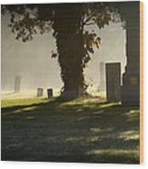 Sibley Cemetery Wood Print