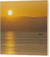 Sicilian Dawn Wood Print