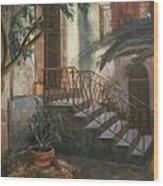 Sicilian Nunnery Wood Print