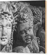 Sidamara Sarcophagus Wood Print by Taylan Apukovska