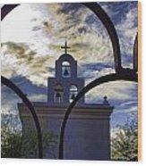 Side Chapel Wood Print