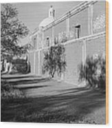 Side View Mission San Jose De Tumacacori Tumacacori Arizona 1979 Wood Print
