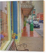 Sidewalk Shot Weston Missouri Wood Print
