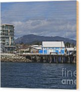 Sidney Harbour On Vancouver Island Wood Print