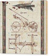 Siege Crossbow Wood Print by Garry Walton