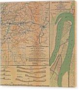 Siege Of Vicksburg 1863 Wood Print