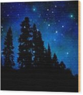 Sierra Foothills Wall Mural Wood Print