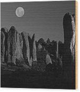 Sierra Madre II Wood Print