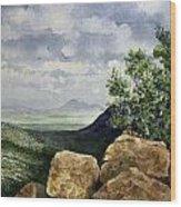 Sierra San Jose From Montezuma Pass Wood Print