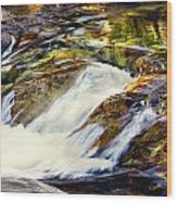 Sierra Snow Melt 2 Wood Print