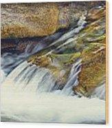 Sierra Snow Melt Wood Print