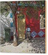 Siesta In Boa Vista Wood Print