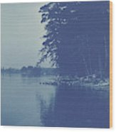 Sight Over A Lake, Anonymous Wood Print