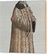 Sigismund Von Herberstein (1479-1533) Wood Print