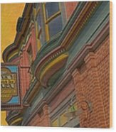Sign - Frederick Inn Steakhouse And Lounge Wood Print