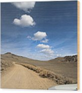Signals ... Along The Bristlecone Pine Highway, White Mountains, California.  Wood Print