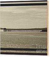 Silance Bridge Wood Print