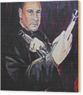 Pencak Silat - Pelatih Johnny Dutrieux Wood Print