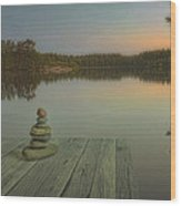 Silence Of The Wilderness Wood Print by Veikko Suikkanen
