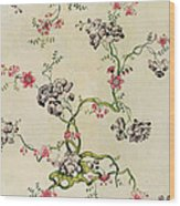 Silk Design Wood Print