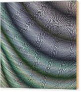 Silk Fabric Wood Print