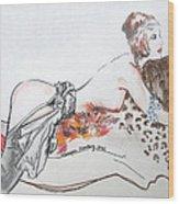 Silk Stockings Wood Print