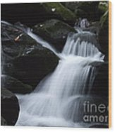 Silky Waterfall Wood Print