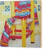 Silla De La Cocina--kitchen Chair Wood Print